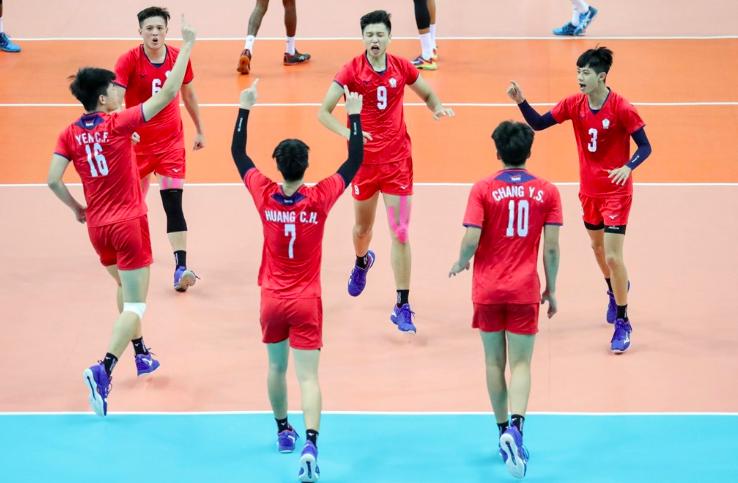 中華隊在亞洲U23男子排球錦標決賽收下隊史首冠(圖取自facebook.com/AsianVolleyballConfederation)