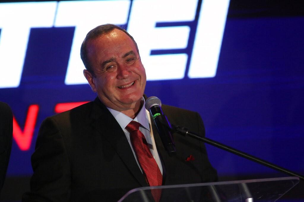Guatemala president-elect Alejandro Giammattei (Source: AP)