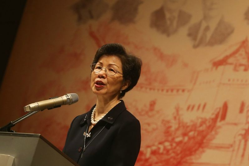 Taiwan official Chang Hsiao-yueh.