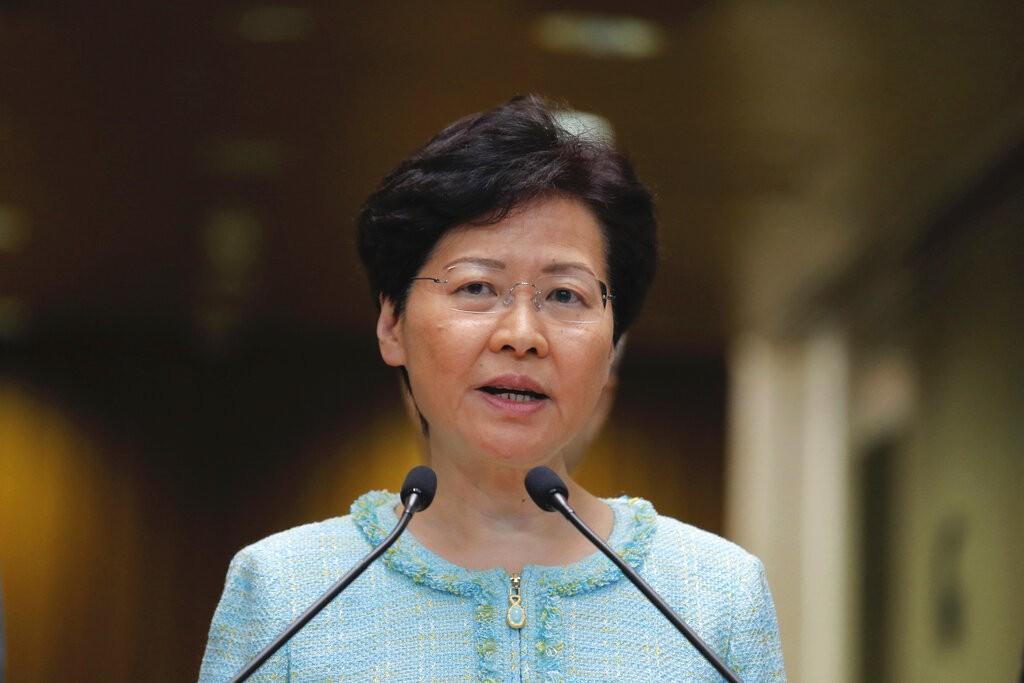香港特首林鄭月娥(圖/AP)