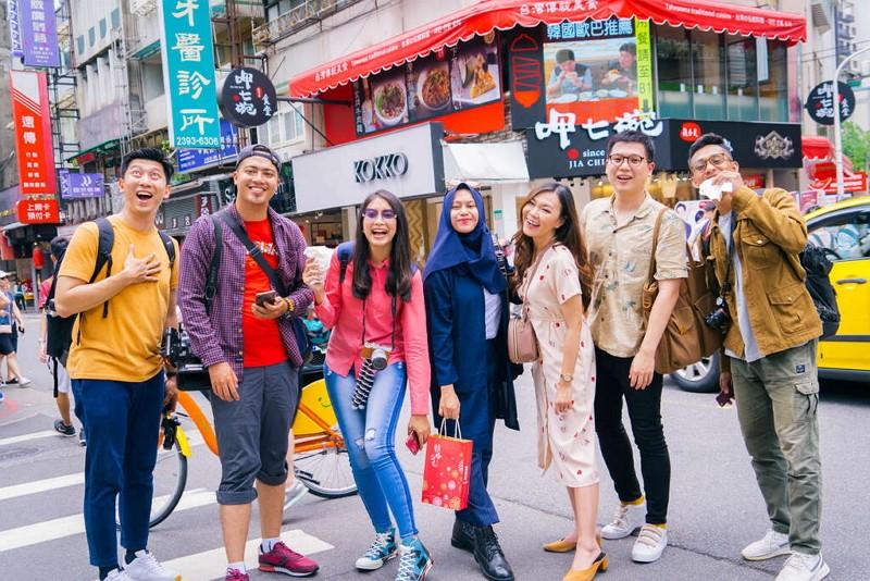Indonesian online celebs visit Taiwan (Travel Taipei photo)