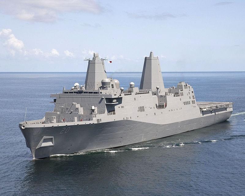 The USS Green Bay