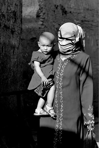 Fille musulmane datant de l'Inde