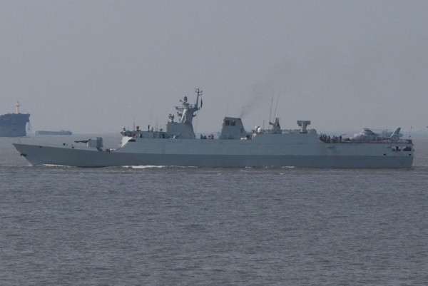 Type 056 corvette.