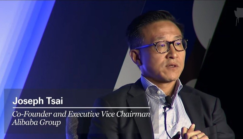 Alibaba Executive Vice Chairman Joseph Tsai (screenshot from Goldman Sachs website).