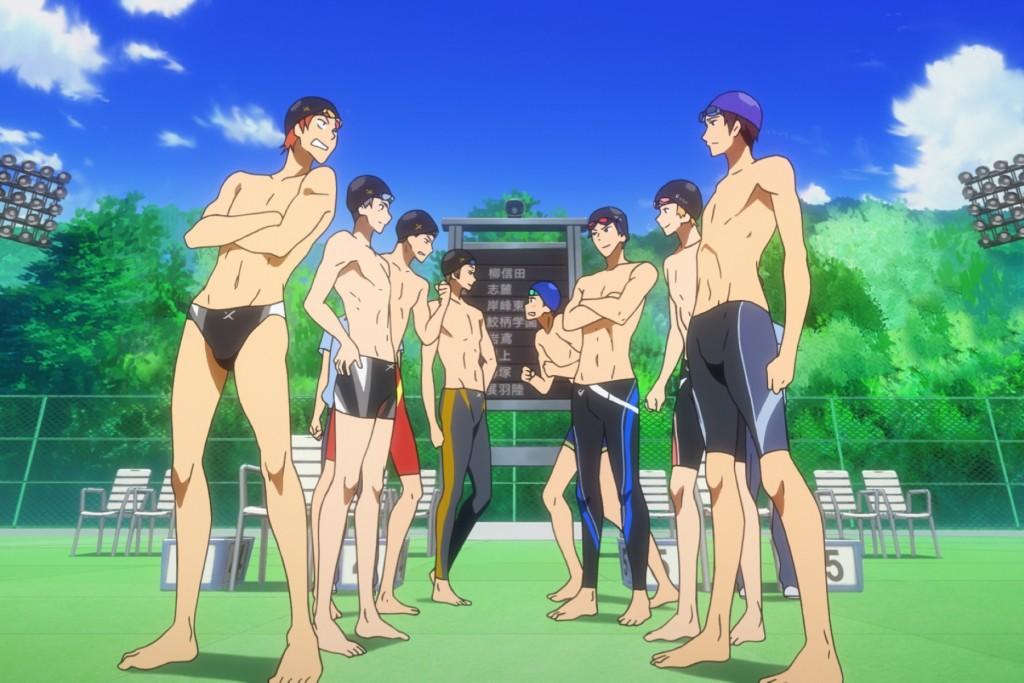 【劇場版FREE男子游泳部】由京都動畫熱血打造。(圖片來源:采昌國際多媒體。)