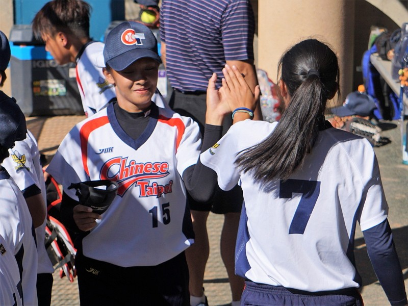 Taiwan routs Puerto Rico at U-19 Women's Softball World Cup (CNA photo)