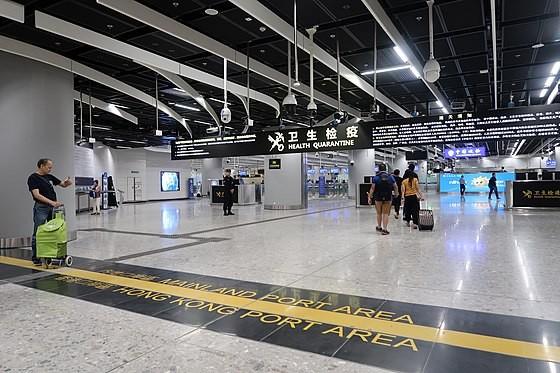 廣深港高鐵西九龍站內地口岸區(照片來源:維基百科)