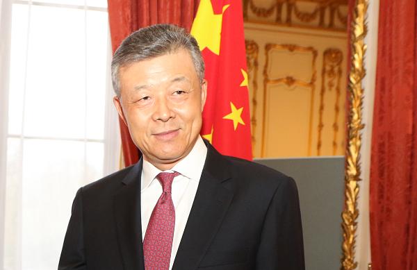 File photo: Chinese Ambassador to UK Liu Xiaoming
