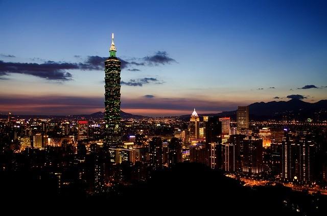 Taipei city at night (Pixabay photo)