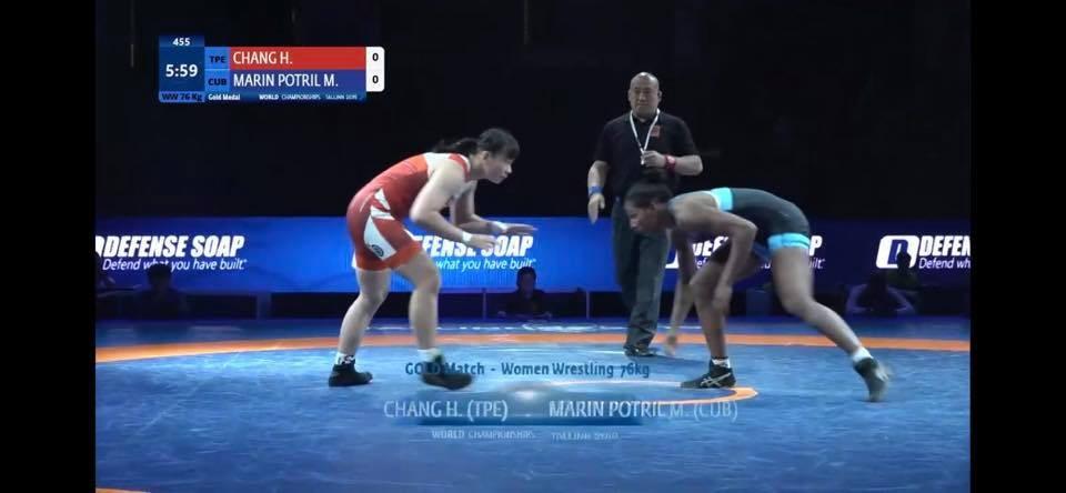 Taiwanese wrestler wins silver in Junior World Championship tournament
