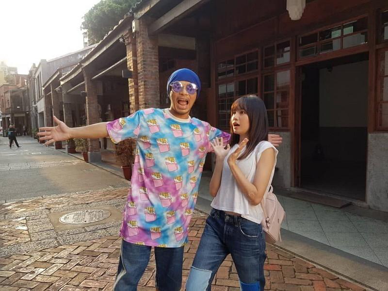 Namewee (left) and Boon Hui Lu (Taipei City photo)