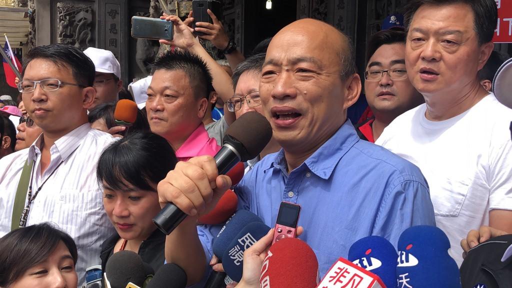 Kaohsiung mayor Han Kuo-yu (Source: CNA)