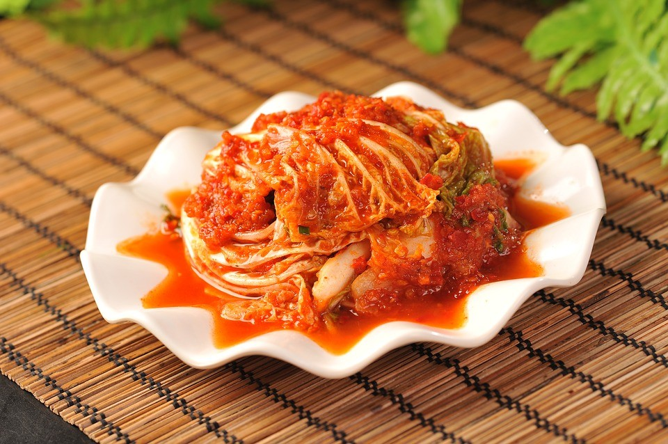 韓式泡菜(圖/ pixabay)