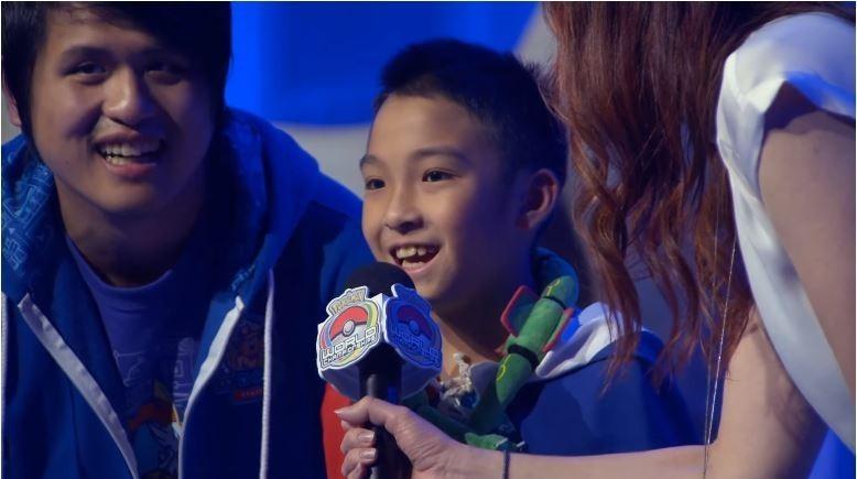 World Pokemon Video Game Champion Wu Pi (Screen grab from YouTube)
