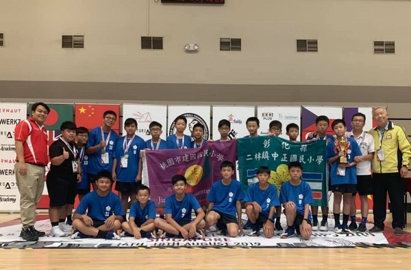 Taiwan's team won the Tchoukball Championships 2019. (photo: WYTC 2019 Singapore's Facebook page)