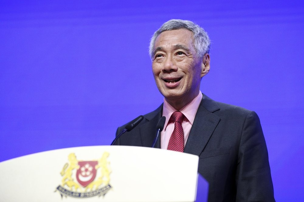 File photo: Singapore's Prime Minister Lee Hsien Loong