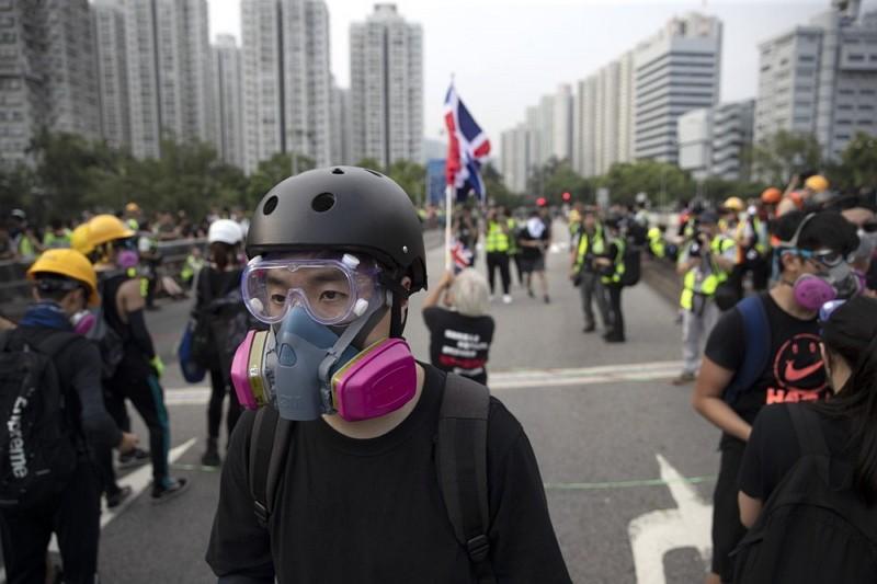 香港抗議者(AP)