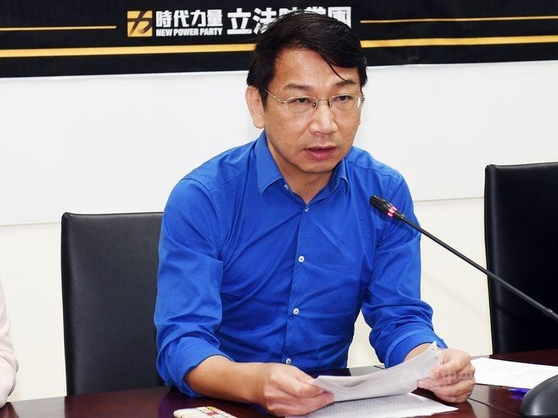NPP lawmaker Hsu Yung-ming.