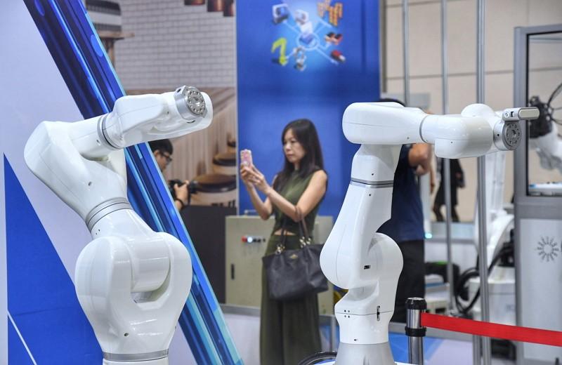 The 2019 Taipei International Industrial Automation Exhibition kicks off. (CNA photo)