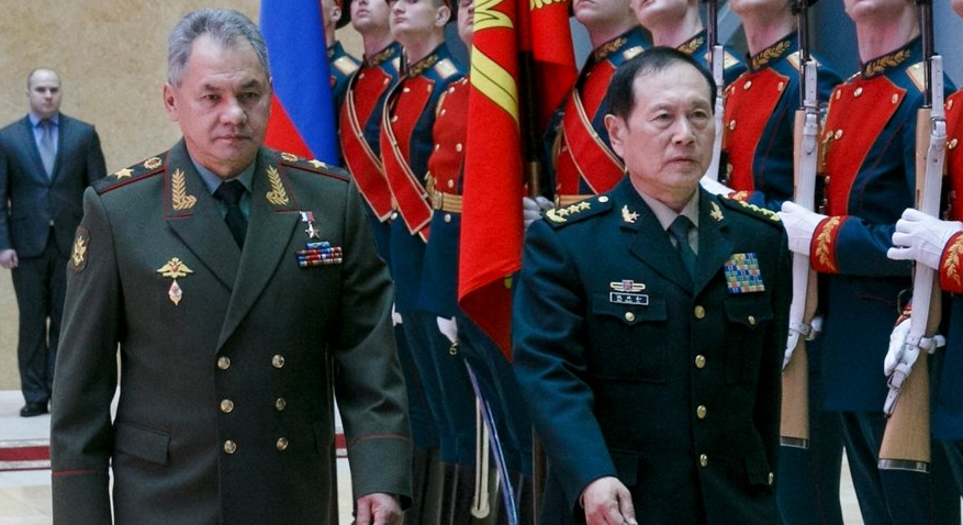 File photo: Russian Defence Minister Sergey Shoygu and Chinese Defence Minister Wei Fenghe. September, 2018