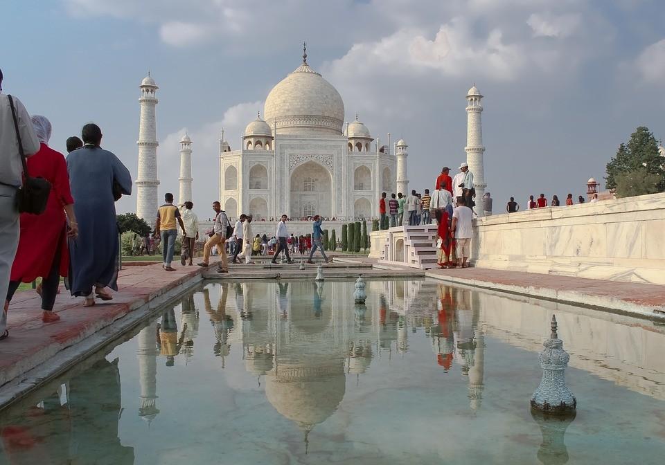 位於印度北方邦的泰姬瑪哈陵(圖/ pixabay)