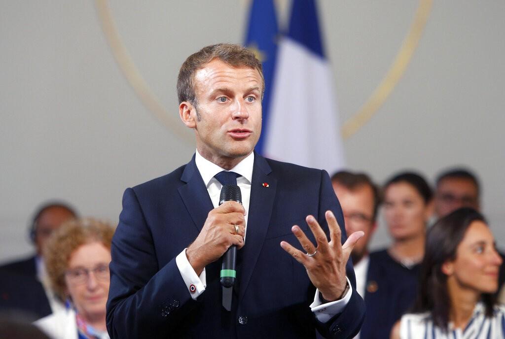 法國總統馬克宏(Emmanuel Macron)(圖/美聯社)