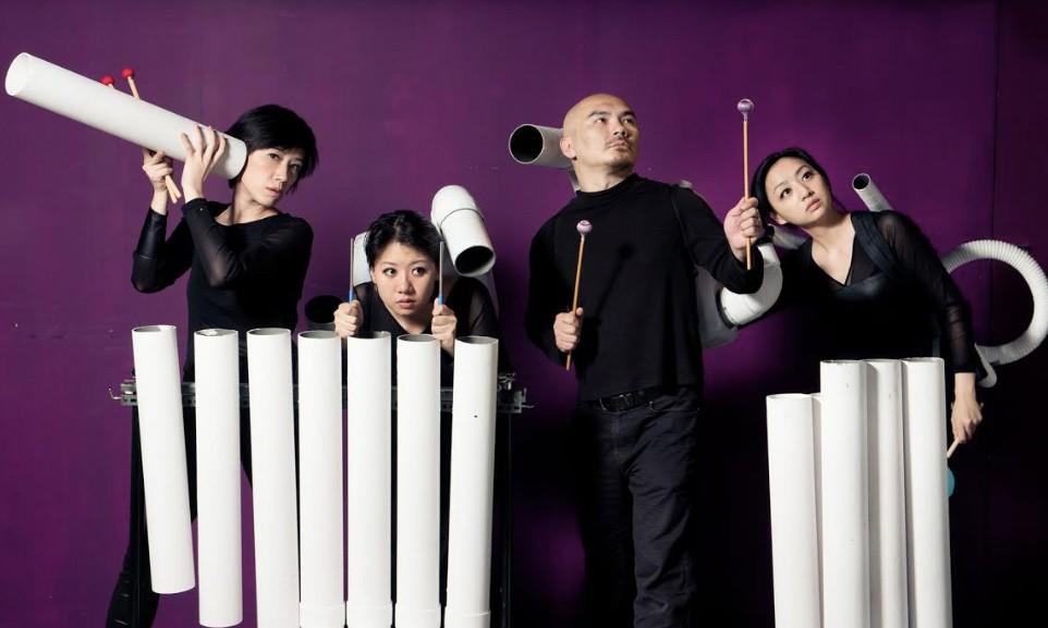 自由擊樂團受邀赴美演出,並舉辦音樂工作坊(圖/文化部)