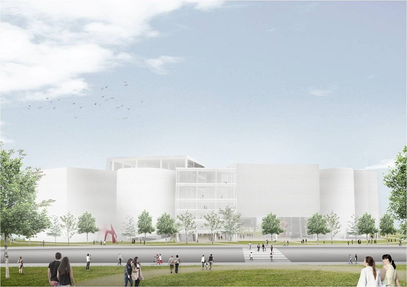 Design for Taichung Green Museumbrary (Taichung City image)