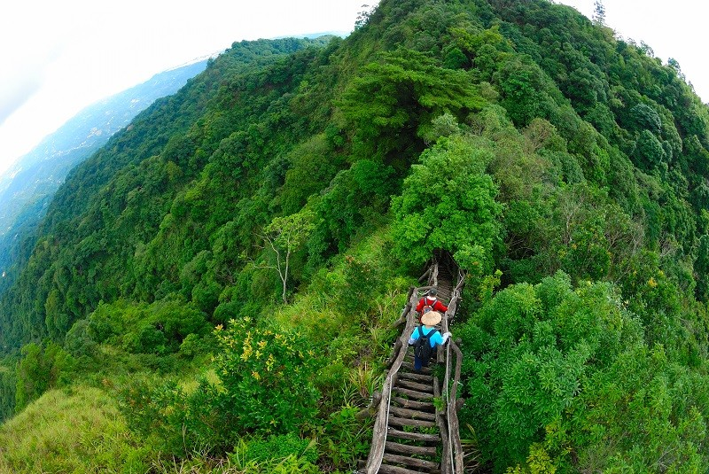 Dakeng Trail No. 5. (Taichung City Scenic Area Administration Office photo)