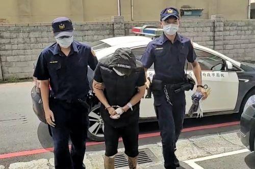 26-year-old suspect surnamed Chu (朱) (CNA photo)
