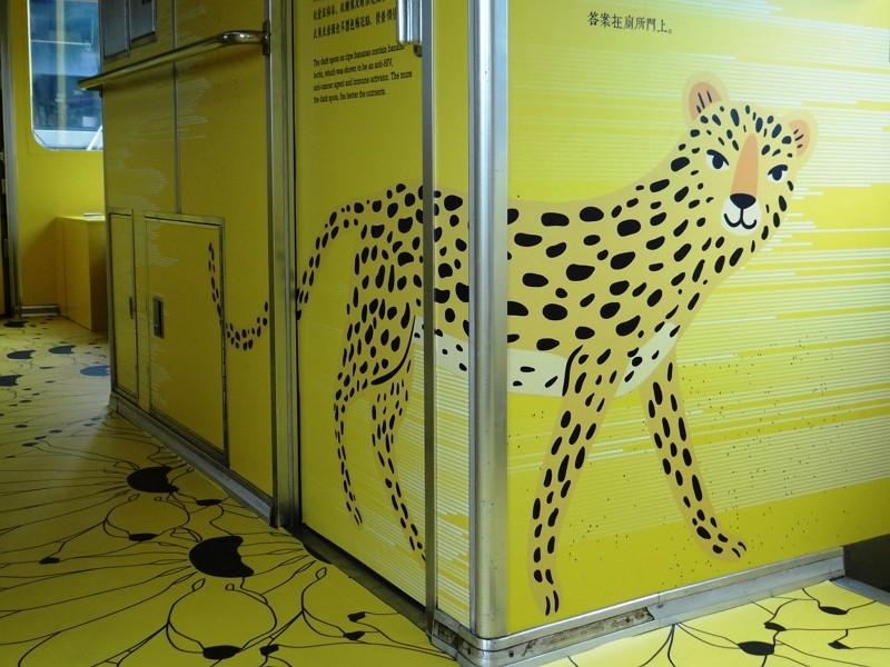 Controversial leopard cat design (TRA Facebook photo)