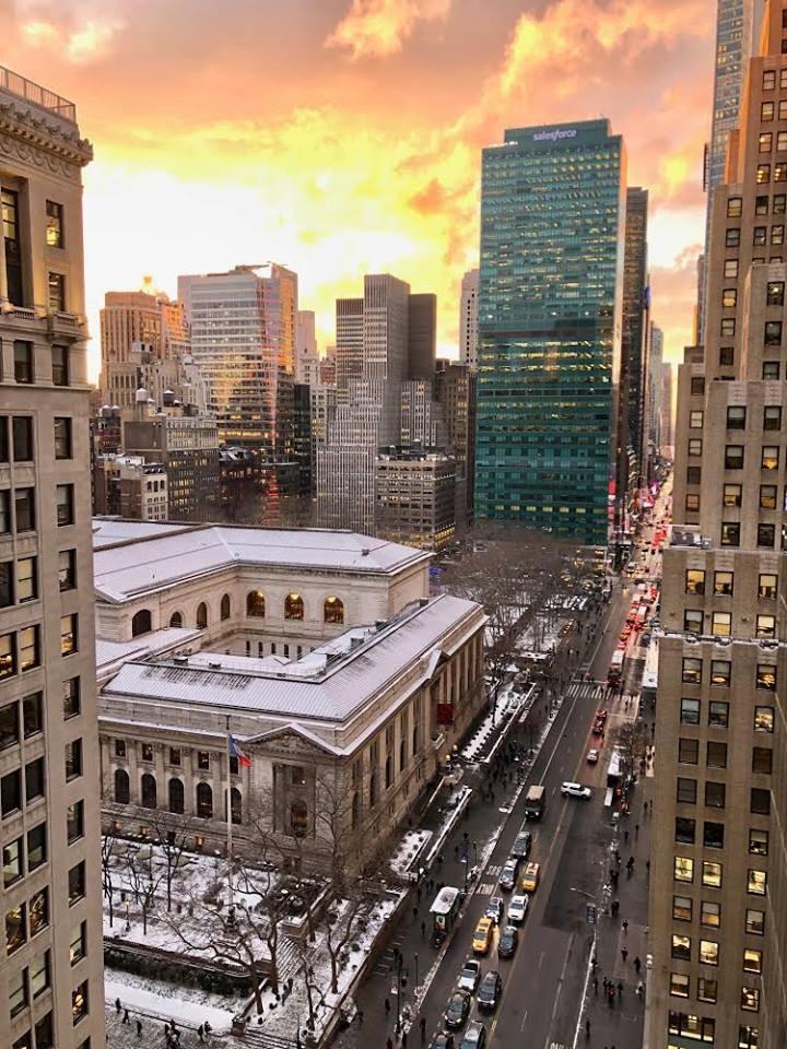 駐紐約台北經濟文化辦事處位於第五大道上。(圖/官方臉書)