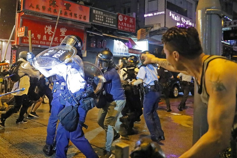 Protests in Hong Kong (AP photo)