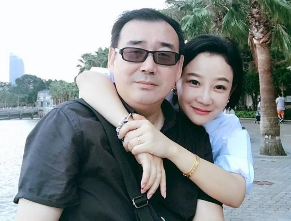Yang Hengjun (left) with Yuan Xiaoliang (right)