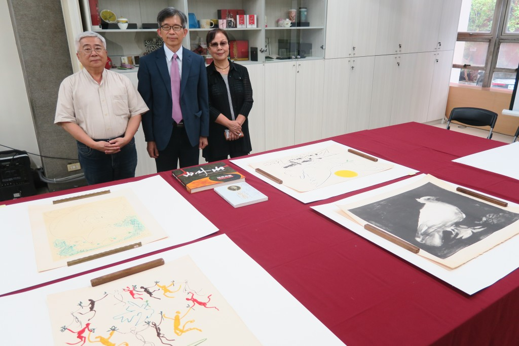 The National Museum of History displays the original copies of Picasso's prints (Source: CNA)