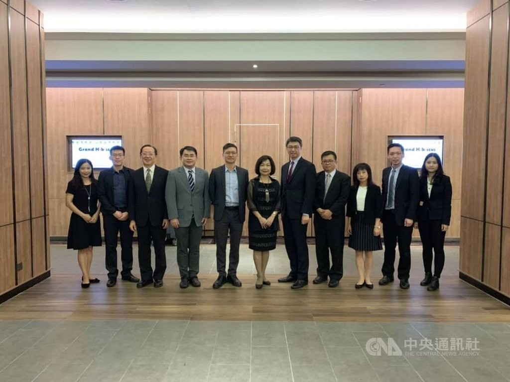 Officials from the Ministry of Economic Affairs and Taiwan's representative office in Malaysia (Source: TECO Malaysia/ CNA)