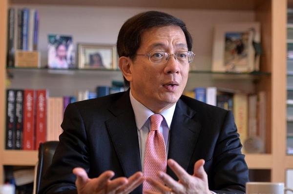 File photo: Kuan Chung-ming, NTU President