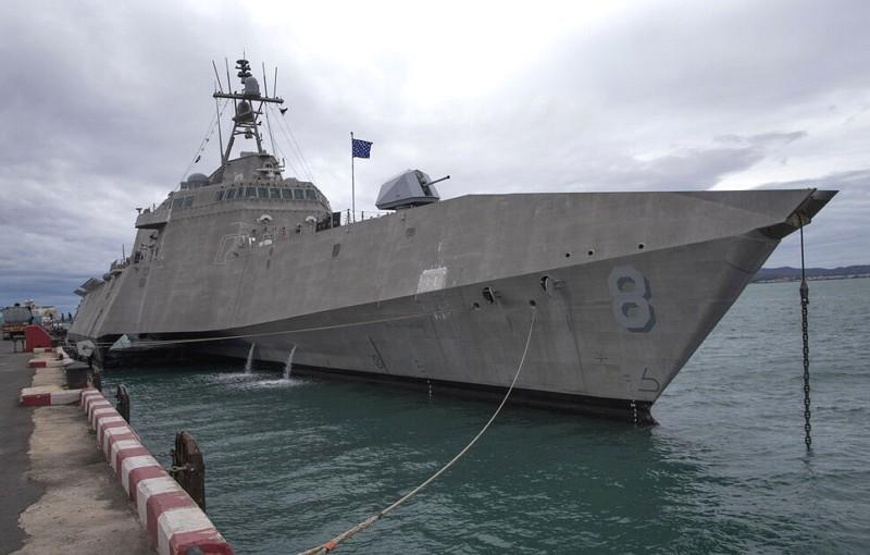 The USS Montgomery (AP photo)