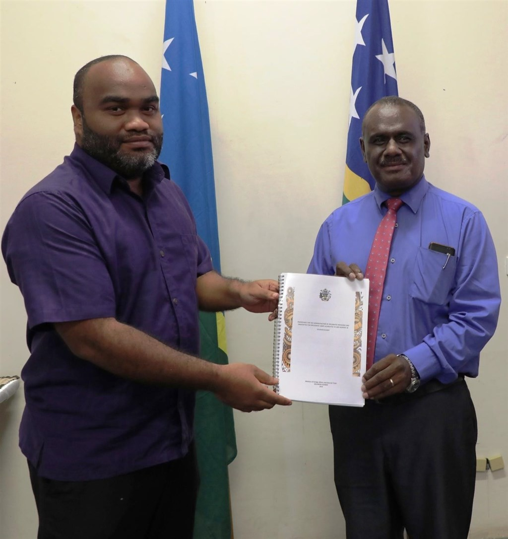 Jeremiah Manele (Right) (Source: CNA/ File photo)