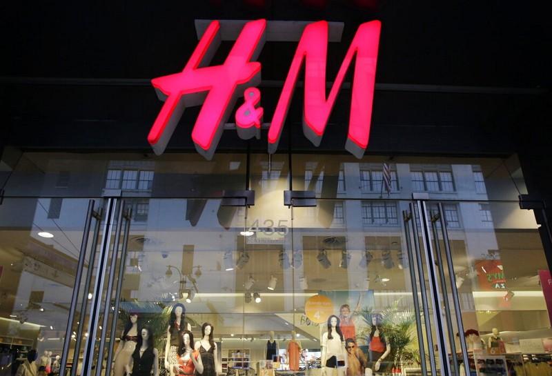 紐約H&M商家(圖/AP)