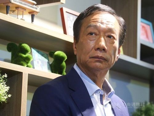 Former Foxconn Technology Chairman Terry Gou.