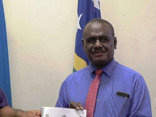 File photo: Solomon Islands Foreign Minister Jeremiah Manele