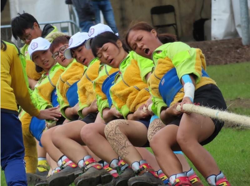青年女子500公斤奪金!(圖/中華民國拔河運動協會官方臉書)