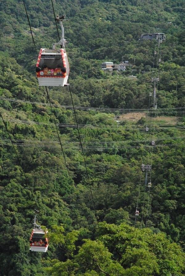Taipei Maokong Gondola offers week-long Moon     | Taiwan News