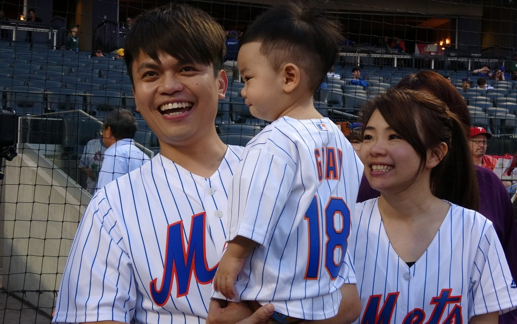 Tsai video promoting Taiwan draws cheers from Mets crowd