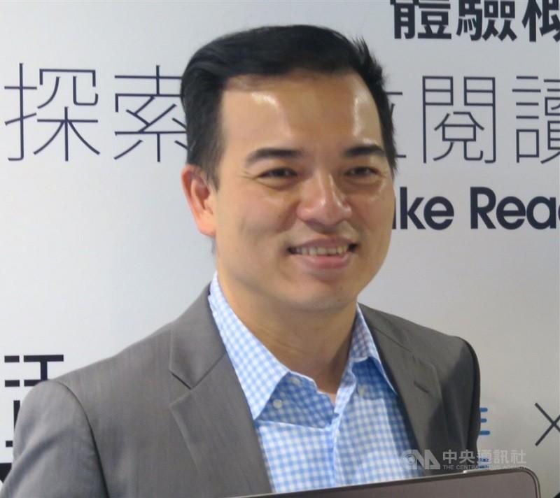原元太董事長柯富仁(圖)接任友達總經理暨營運長。(中央社檔案照片)