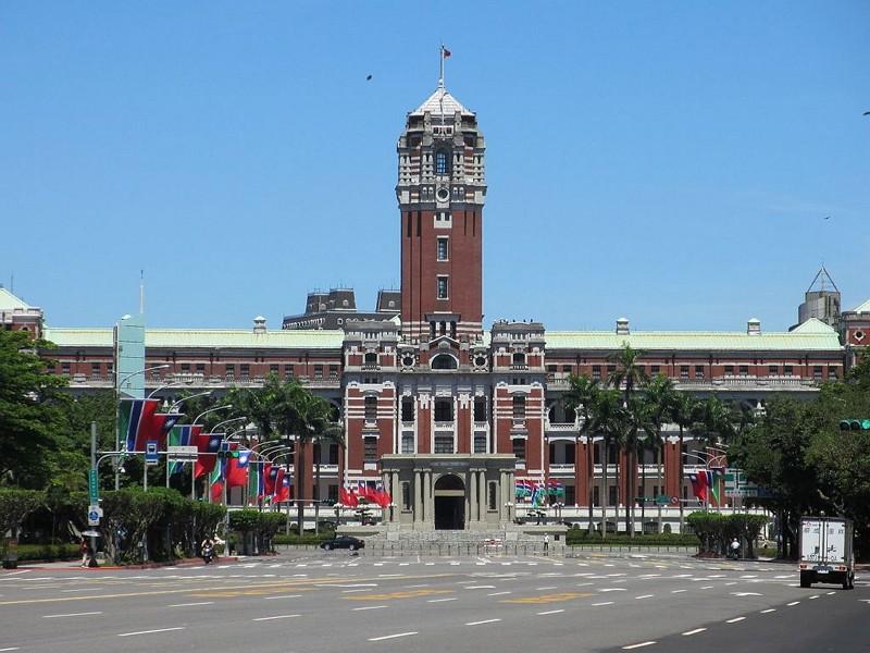 總統府(Wikipedia Commons / 張永泰攝)