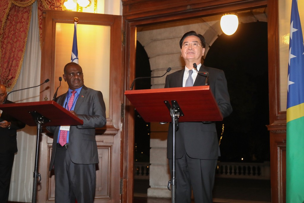 (L-R) Jeremiah Manele and Joseph Wu (Source: CNA)