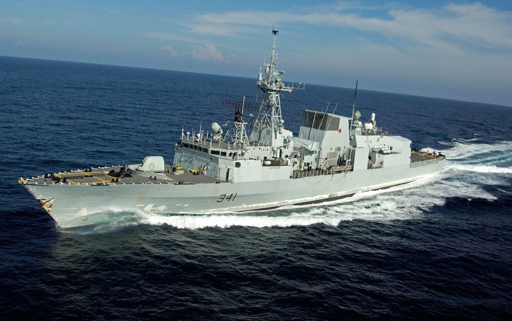 HMCS Ottawa (Photo from Government of Canada)